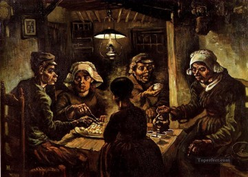The Potato Eaters Vincent van Gogh Oil Paintings